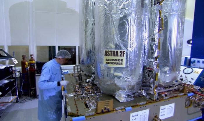 Astra 2F Satellite