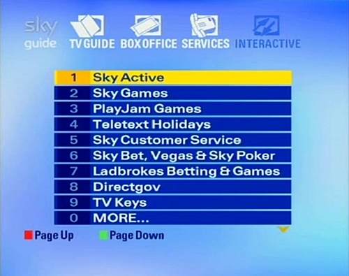 Sky guide sd interactive services - Can you get sky box office on sky go ...