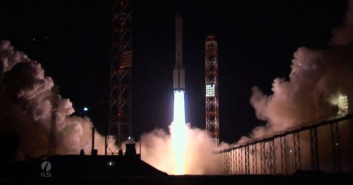 Astra 2G launch from the Baikonur Cosmodrome