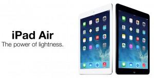 iPad Air - The power of lightness