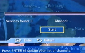 Freeview Retune