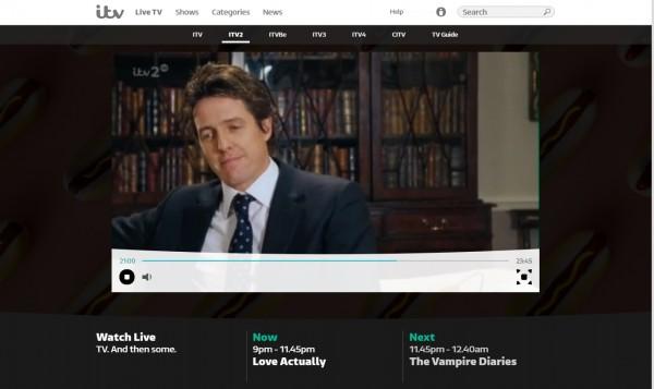 ITV2 Live on ITV Hub