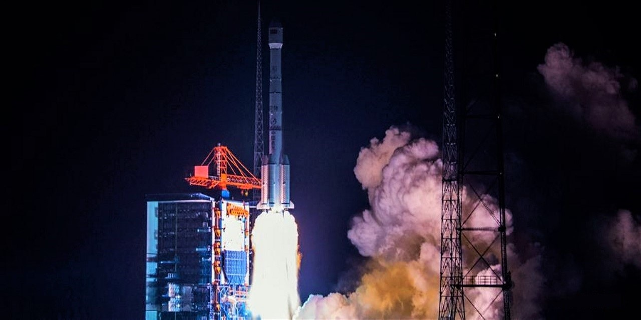 Long March 3B launch of Belintersat-1
