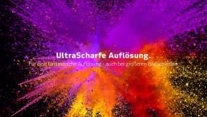 UHD-1Ultra Scharfe Auflösung
