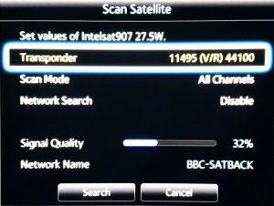 BBC-SATBACK Network