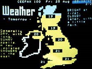 Ceefax Weather