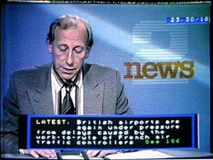 Ceefax Newsflash