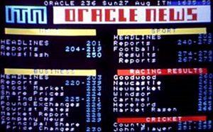 Oracle News Index