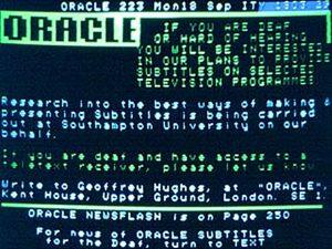 Oracle Subtitles