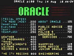 Oracle index 1975