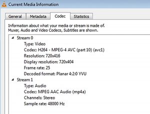 UKTV Play Codec Information