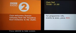 BBC Radio 2 on Freeview
