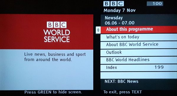 BBC World Service Radio