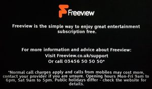 Freeview Information