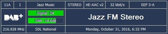 Jazz FM in DAB+