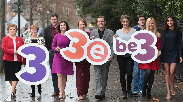 TV3 Group launches new look three-channel line-up