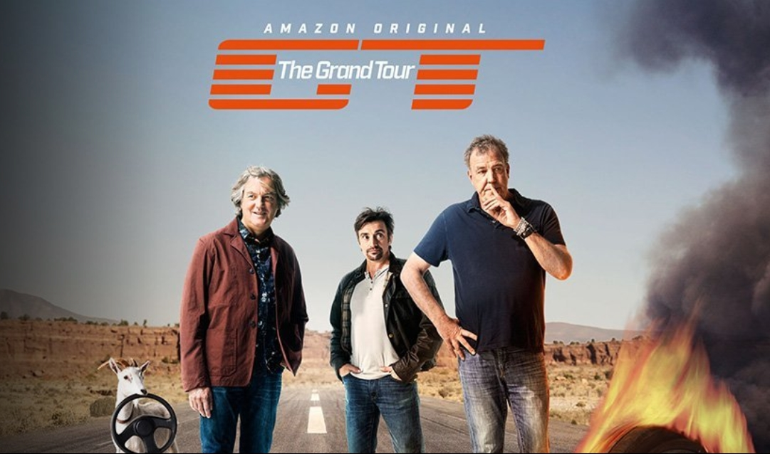 Amazon Prime's 'The Grand Tour' breaking Streaming Records & in 4K