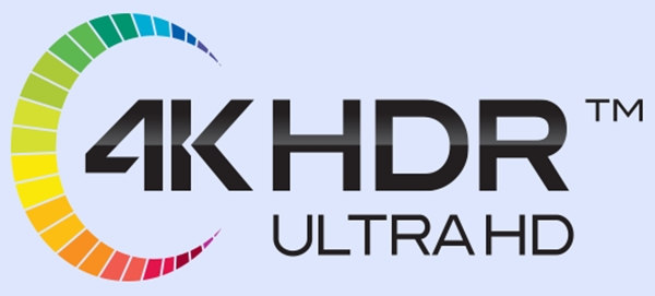 New 4K HDR Ultra HD Logo