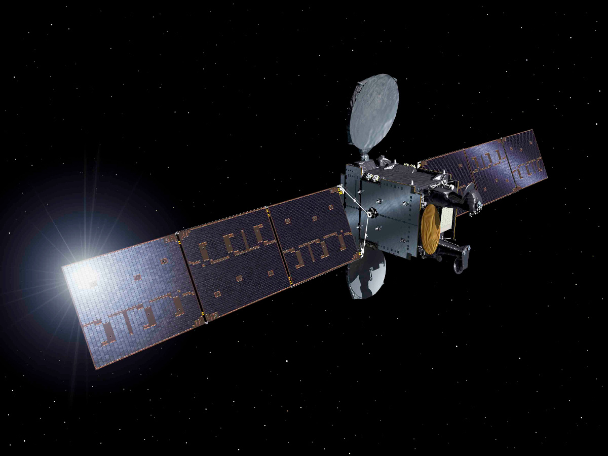 Hispasat launches its most innovative satellite yet: the H36W-1