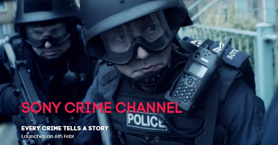Sony Crime Channel testing Free-To-Air