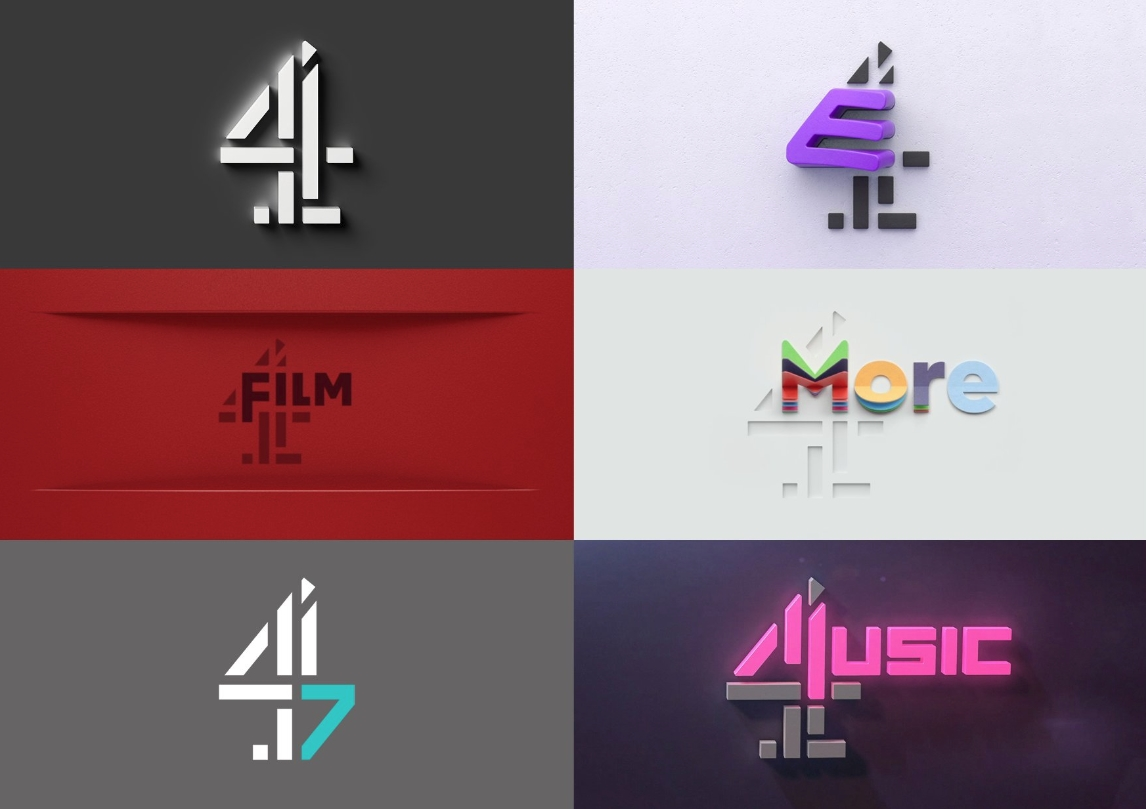 Channel 4 unveils network rebrand