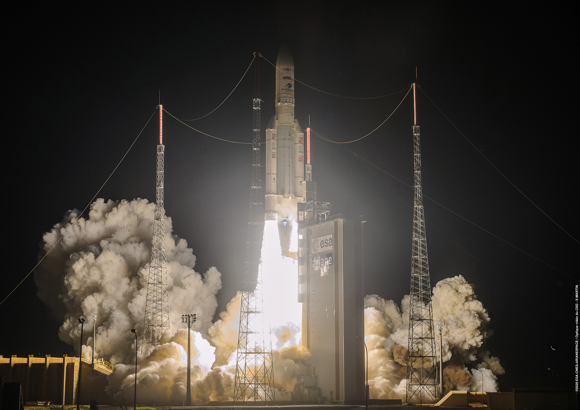 Triple mission success for Ariane 5