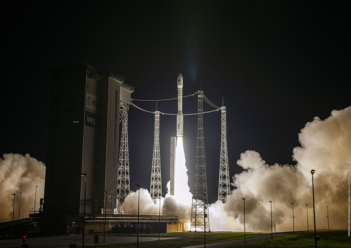 Arianespace successfully performs the first European mission to launch multiple small satellites