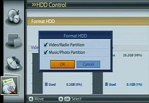 how to split hard drive into 2 partitions