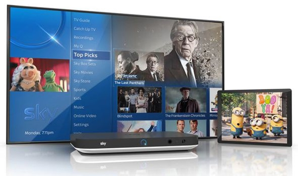 Sky Q Fluid viewing across all your devices